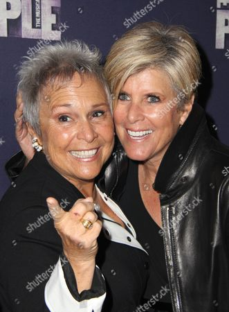 Stock Image of Kathy Travis, Suze Orman