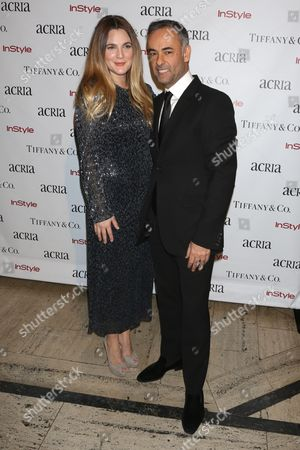 Drew Barrymore and Francisco Costa