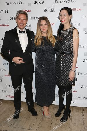 Will Kopelman, Drew Barrymore and Jill Kargman