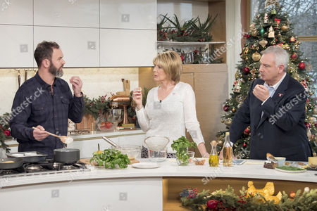 Stock Image of Glynn Purnell, Ruth Langsford and Eamonn Holmes