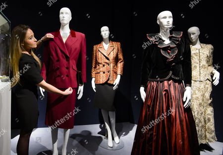 Various outfits including a burgundy wool twill suit - £5,000 - £10,000