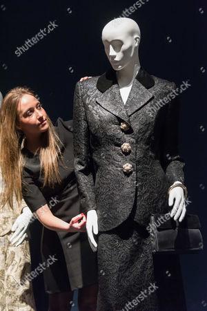 Editorial picture of Christie's Mrs Thatcher auction, London, Britain - 11 Dec 2015