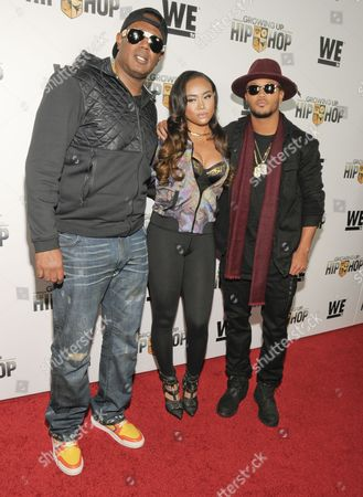 Master P, Cymphonique Miller, Percy Romeo Miller Jnr attend