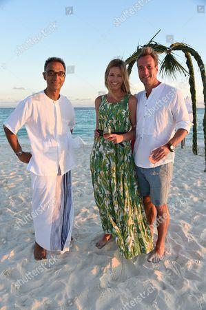 Sonu Shivdasani, Ben and Marina Fogle