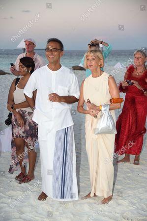 Editorial picture of Soneva Fushi 20th anniversary party, Maldives - Nov 2015