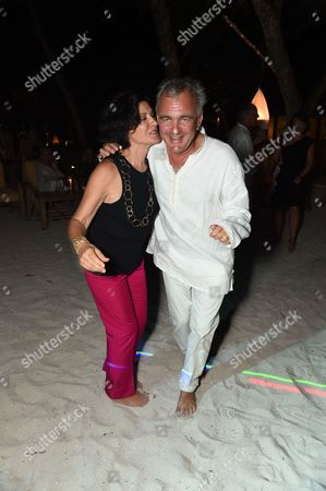 Stock Picture of Paloma Picasso and Eric Thevenet