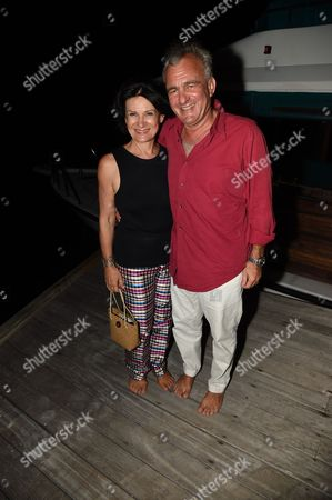 Stock Photo of Paloma Picasso and Eric Thevenet