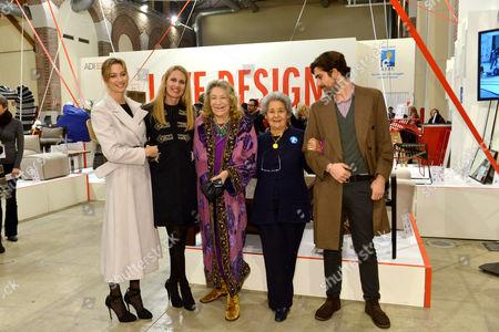 Editorial photo of Inaugurazione Love Design exhibition, Milan, Italy - 10 Dec 2015