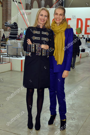 Stock Picture of Isabella Borromeo Brachetti Peretti and Lavinia Borromeo Elkann