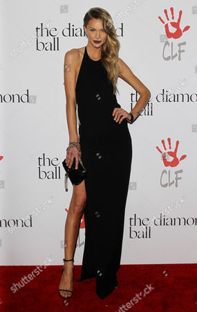 Editorial photo of Rihanna's Diamond Ball, Los Angeles, America - 10 Dec 2015