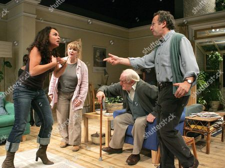'Two Thousand Years' - Samantha Spiro ( Michelle ), Caroline Gruber ( Rachel ), John Burgess ( Dave ), Allan Corduner ( Dannny )