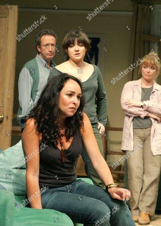 'Two Thousand Years' - Allan Corduner ( Danny ), Alexis Zegerman ( Tammy ), Samantha Spiro ( Michelle ), Caroline Gruber ( Rachel )