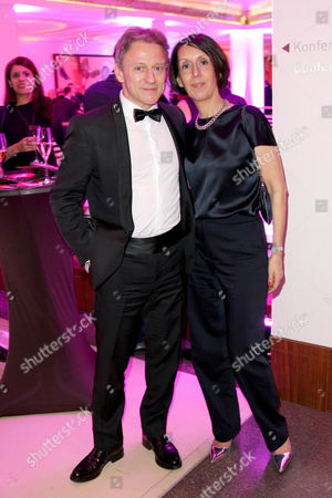 Stock Picture of Axel Pape and wife