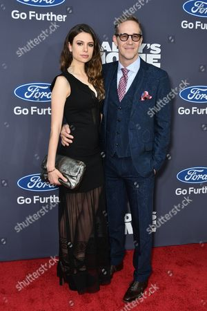Stock Photo of Singer-songwriter Antoniette Costa and Executive Producer Joey McFarland