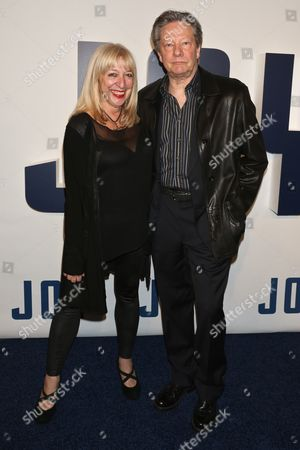 Marianne Leone Cooper and Chris Cooper