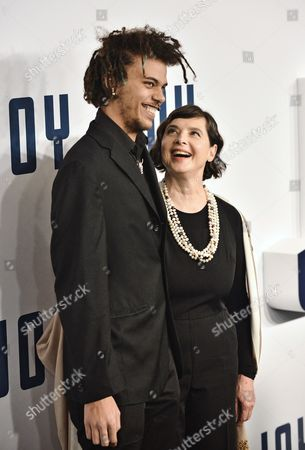 Roberto Rossellini and Isabella Rossellini