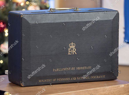 Items that belonged to Baroness Margaret Thatcher - parliamentary secretary's case