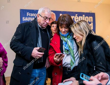 Editorial picture of Francois Sauvadet at his Campaign headquarters, Dijon, France - 13 Dec 2015