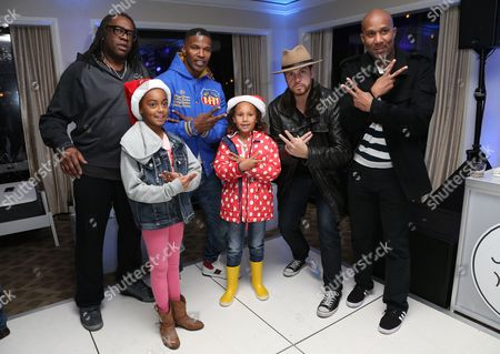 Kazembe Ajamu Coleman, Jamie Foxx, Annalise Bishop, Dave Osokow and guests