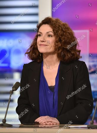 Stock Image of Chantal Jouanno, Senator of Paris and IDU Spokesperson