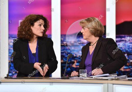 Editorial photo of Regional Election second tour on LCI, Paris, France - 14 Dec 2015