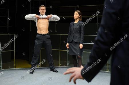 Max Bennett (Tony), Susannah Fielding (Isobel), Marc Wootton (Thomas)
