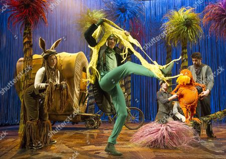 Emily Houghton as Donkey, Simon Paisley Day as Once-ler, Laura Cubitt,  Simon Lipkin