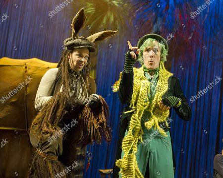 Emily Houghton as Donkey, Simon Paisley Day as Once-ler