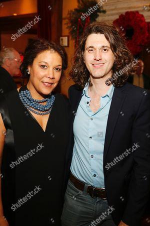 Linda Powell and Lucas Hnath