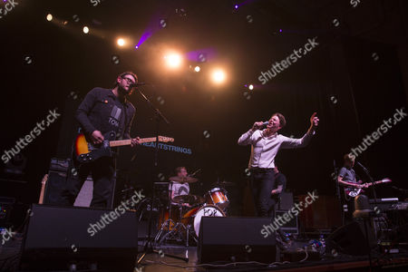 Editorial picture of Frankie and The Heartstrings in concert at the Usher Hall, Edinburgh, Scotland, Britain - 14 Dec 2015