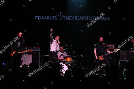 Stock Image of Frankie & The Heartstrings - Ross Millard, Frankie Francis, Dave Harper, Simon Hubbard and Michael McKnight