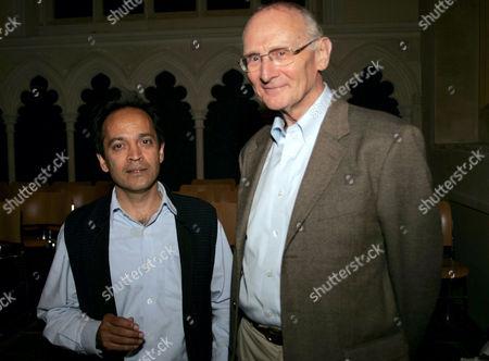 Vikram Seth with Professor John Carey