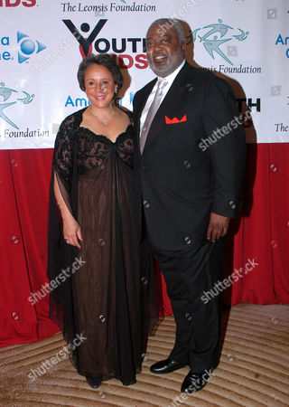Sheila Johnson, owner of the WNBA Washington Mystics and her fiance, Judge William Newman