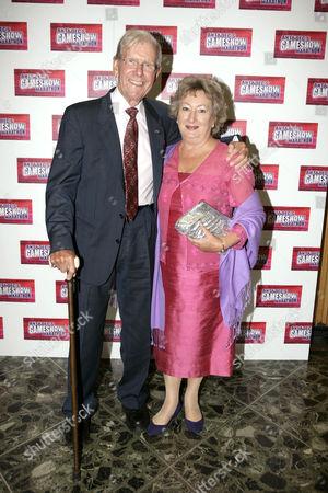 Bob Holness and wife