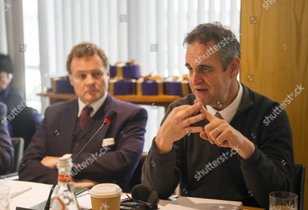 Lord Rothermere (l) Chairs A Meeting With Chinese Delegates And Dmgt Executives To Discuss Online Strategies.
