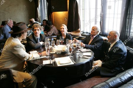 Johnny Depp,Alan Horn, Lili Fini Zanuck,Richard Zanuck,Jeff Rob