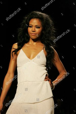 Amerie at the Fashion For Relief Fashion Show