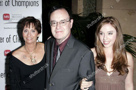 David Lander and family