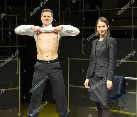 Max Bennett as Tony, Susannah Fielding as Isobel,