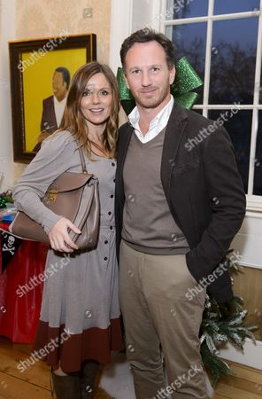 Stock Picture of Geri Horner and Chris Horner