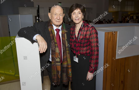 Russian Cosmonaut Alexey Leonov and Lady Mary Archer  (Science Museum's Group Chairman)
