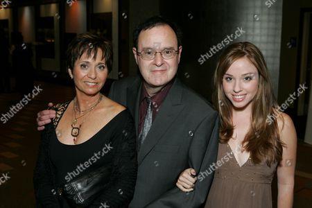 David Lander, wife Kathy daughter Natalie