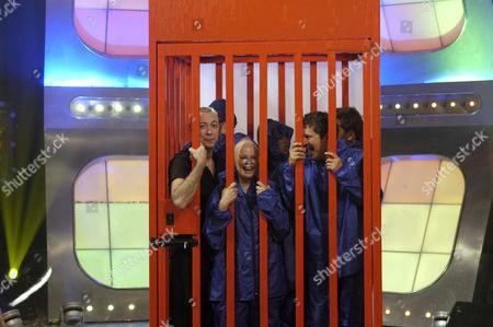 Gareth Jones, Gail Porter and Neil Buchanan