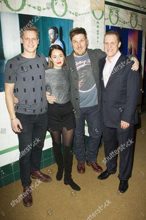 Max Bennett (Tony), Susannah Fielding (Isobel), Marc Wootton (Thomas) and Nigel Lindsay (Carter)