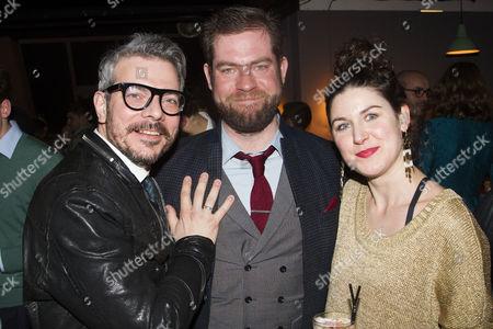 James Bierman (Producer), Simon Evans (Director) and Emily Dobbs (Producer)
