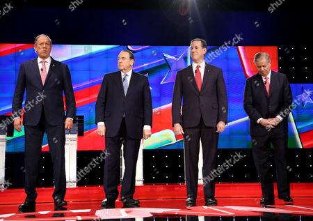 Editorial picture of CNN Republican Presidential Debate, Las Vegas, America - 15 Dec 2015