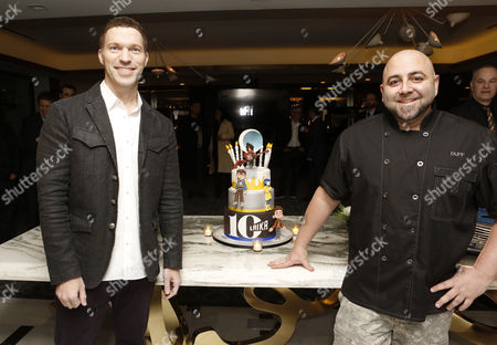 Travis Knight and Duff Goldman