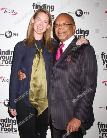 Francie Swift and Henry Louis Gates Jr
