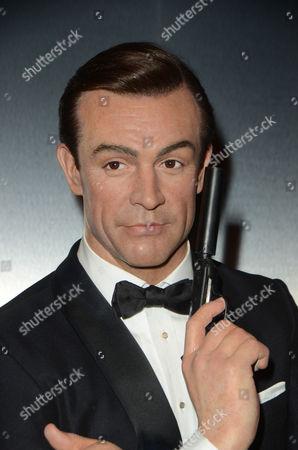 Sean Connery wax figure