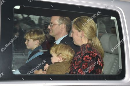 Albert Windsor, Lord Nicholas Windsor, Leopold Windsor, Lady Nicholas Windsor
